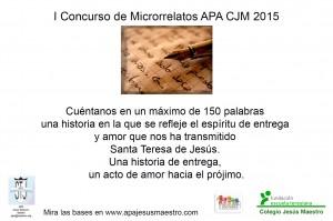 Cartel Concurso de Microrrelatos APA